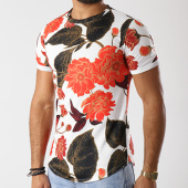 /achat-t-shirts-longs-oversize/uniplay-tee-shirt-oversize-up-t257-blanc-floral-143564.html