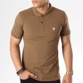 /achat-polos-manches-courtes/selected-polo-manches-courtes-haro-embroidery-marron-143647.html