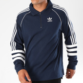 /achat-sweats-col-zippe/adidas-sweat-col-zippe-bandes-brodees-authentic-rugby-dh3843-bleu-marine-143789.html