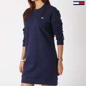 https://www.laboutiqueofficielle.com/achat-robes/robe-manches-longues-femme-classics-4470-bleu-marine-143806.html
