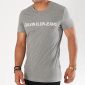 /achat-t-shirts/calvin-klein-tee-shirt-basic-institutional-logo-7855-gris-chine-143848.html