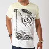 /achat-t-shirts/tokyo-laundry-tee-shirt-motor-tour-jaune-degrade-blanc-143863.html