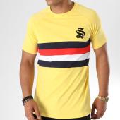 /achat-t-shirts/sinners-attire-tee-shirt-avec-bandes-block-panel-602-jaune-blanc-rouge-bleu-marine-144110.html