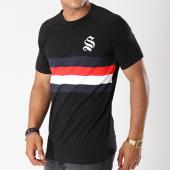 /achat-t-shirts/sinners-attire-tee-shirt-avec-bandes-block-panel-599-noir-144113.html