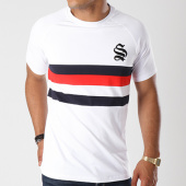 /achat-t-shirts/sinners-attire-tee-shirt-avec-bandes-block-panel-600-blanc-bleu-marine-rouge-144114.html