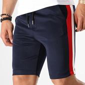 /achat-shorts-jogging/aarhon-short-jogging-211-avec-bandes-bleu-marine-blanc-rouge-144173.html