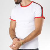 /achat-t-shirts/aarhon-tee-shirt-206-avec-bandes-blanc-rouge-144178.html