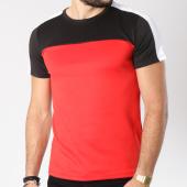 /achat-t-shirts/aarhon-tee-shirt-202-avec-bande-rouge-noir-blanc-144182.html