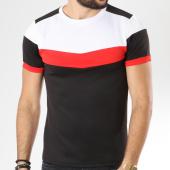 /achat-t-shirts/aarhon-tee-shirt-205-avec-bande-noir-rouge-blanc-144185.html