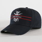 /achat-casquettes-de-baseball/anthill-casquette-logo-bleu-marine-rouge-144189.html