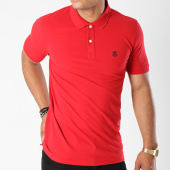 /achat-polos-manches-courtes/selected-polo-manches-courtes-haro-embroidery-rouge-144198.html