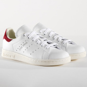 /achat-baskets-basses/adidas-baskets-femme-stan-smith-aq0887-footwear-white-collegiate-burgundy-144243.html