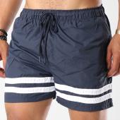 /achat-maillots-de-bain/brave-soul-short-de-bain-avec-bandes-rios-bleu-marine-blanc-144209.html