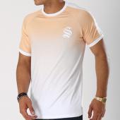 /achat-t-shirts/sinners-attire-tee-shirt-avec-bandes-dip-dye-ringer-beige-degrade-blanc-144201.html