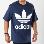 /achat-t-shirts-longs-oversize/adidas-tee-shirt-oversize-trefoil-dh5838-bleu-marine-144280.html