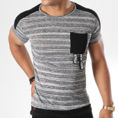 /achat-t-shirts-longs-oversize/classic-series-tee-shirt-poche-oversize-l-2032-gris-chine-144411.html