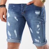 /achat-shorts-jean/classic-series-short-jean-bandes-brodees-995-bleu-denim-144490.html