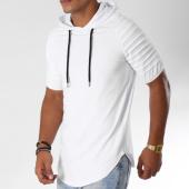 /achat-t-shirts-capuche/lbo-tee-shirt-capuche-oversize-462-blanc-144568.html