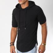 /achat-t-shirts-capuche/lbo-tee-shirt-capuche-oversize-463-noir-144569.html