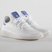 /achat-baskets-basses/adidas-baskets-tennis-hu-pharrell-williams-b41794-footwear-white-chalk-white-144642.html