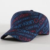/achat-casquettes-de-baseball/calvin-klein-casquette-logo-0191-bleu-marine-rouge-144622.html