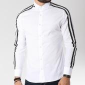 /achat-chemises-manches-longues/classic-series-chemise-manches-longues-avec-bandes-2054-blanc-144730.html