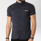 /achat-chemises-manches-courtes/classic-series-chemise-manches-courtes-0121-bleu-marine-beige-144732.html