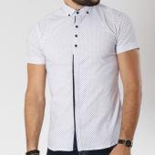 /achat-chemises-manches-courtes/classic-series-chemise-manches-courtes-0118-blanc-bleu-marine-144736.html