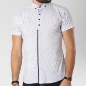 /achat-chemises-manches-courtes/classic-series-chemise-manches-courtes-0118-blanc-noir-144737.html