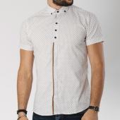 /achat-chemises-manches-courtes/classic-series-chemise-manches-courtes-0118-blanc-camel-144738.html