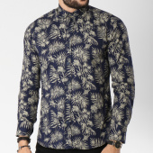 /achat-chemises-manches-longues/classic-series-chemise-manches-longues-16386-bleu-marine-floral-ecru-144741.html