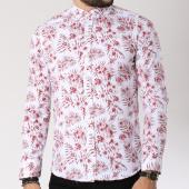 /achat-chemises-manches-longues/classic-series-chemise-manches-longues-16386-blanc-floral-rouge-144753.html