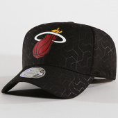 /achat-casquettes-de-baseball/mitchell-and-ness-casquette-miami-heat-bh72s7-noir-144830.html