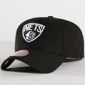 /achat-casquettes-de-baseball/mitchell-and-ness-casquette-team-logo-brooklyn-nets-noir-144835.html