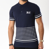 /achat-polos-manches-courtes/paname-brothers-polo-manches-courtes-m59-bleu-marine-blanc-144683.html