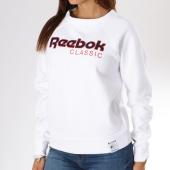 /achat-sweats-col-rond-crewneck/reebok-sweat-crewneck-femme-logo-classics-dh1326-blanc-144998.html