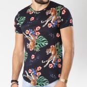 /achat-t-shirts-longs-oversize/uniplay-tee-shirt-oversize-16345-hz203-noir-floral-144975.html