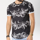 /achat-t-shirts-longs-oversize/uniplay-tee-shirt-oversize-up-t316-noir-floral-144980.html