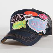 /achat-trucker/von-dutch-casquette-trucker-patchs-brodes-asia-bleu-denim-144904.html