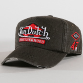 /achat-casquettes-de-baseball/von-dutch-casquette-patchs-brodes-jack-gris-anthracite-144906.html
