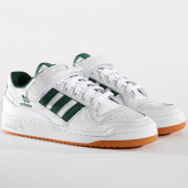 /achat-baskets-basses/adidas-baskets-forum-low-aq1261-footwear-white-collegiate-green-gum-145078.html