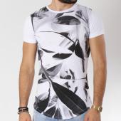 /achat-t-shirts-longs-oversize/classic-series-tee-shirt-oversize-45-blanc-noir-145167.html