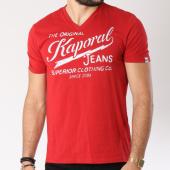 /achat-t-shirts/kaporal-tee-shirt-bruce-rouge-145149.html