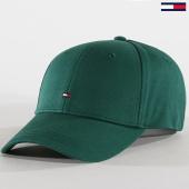 /achat-casquettes-de-baseball/tommy-hilfiger-jeans-casquette-classic-bb-3531-vert-145040.html