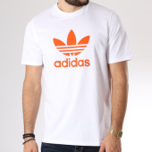 /achat-t-shirts/adidas-tee-shirt-trefoil-dh5772-blanc-orange-145244.html