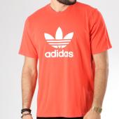/achat-t-shirts/adidas-tee-shirt-trefoil-dh5777-corail-blanc-145249.html