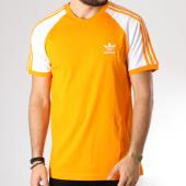 /achat-t-shirts/adidas-tee-shirt-bandes-brodees-3-stripes-dh5809-orange-blanc-145261.html