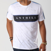 /achat-t-shirts/anthill-tee-shirt-avec-bande-floral-blanc-noir-145392.html