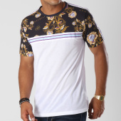 /achat-t-shirts/anthill-tee-shirt-bandes-brodees-floral-blanc-bleu-marine-145394.html
