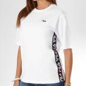 https://www.laboutiqueofficielle.com/achat-t-shirts/tee-shirt-avec-bandes-femme-talita-682321-blanc-145229.html